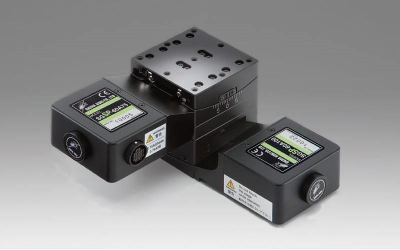 自动摆动平台-5相步进电机(αβ轴)平台尺寸  □60mm